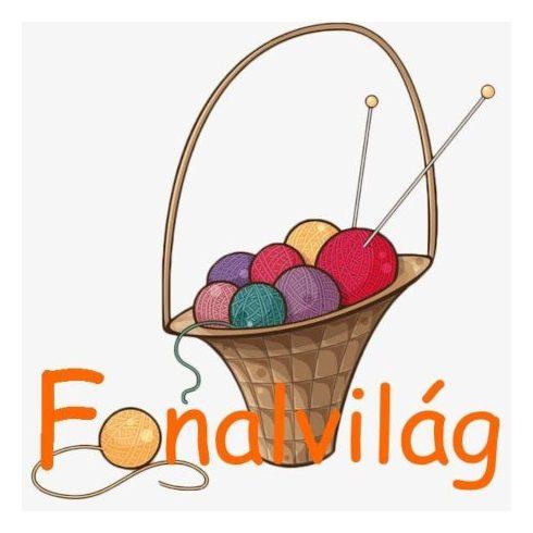 PONY Horgolótű,  5 mm - 15 cm ( nyél nélkül )