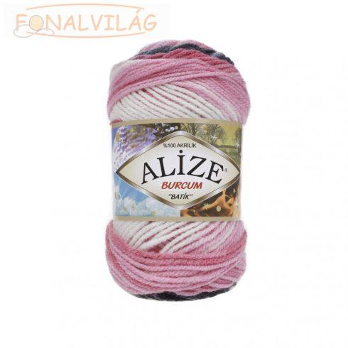 Alize BURCUM BATIK -  Szürke-rózsaszín-fehér melír
