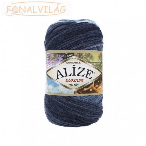 Alize BURCUM BATIK -Kék - fehér 2. melír