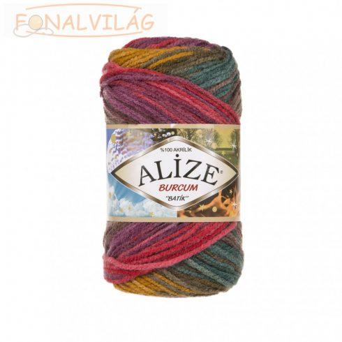 Alize BURCUM BATIK - Mustár-zöld-lila melír