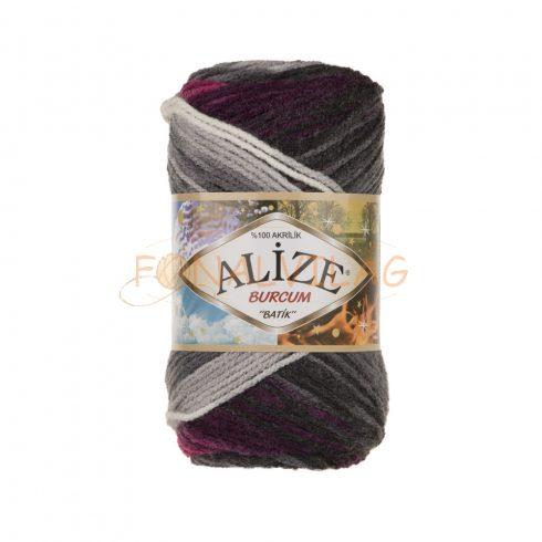 Alize BURCUM BATIK -  Szürke-mályva-fehér melír