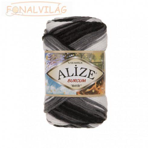 Alize BURCUM BATIK - Fekete, szürke, fehér