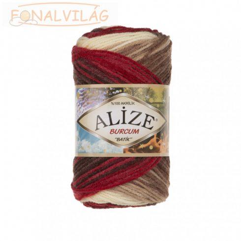 Alize BURCUM BATIK -Barna, krém, vörös, piros