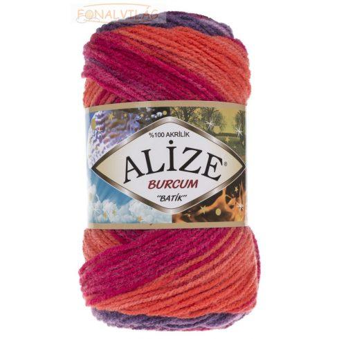 Alize BURCUM BATIK -Lila-pink-narancs  melír
