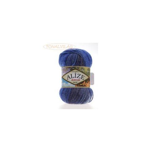 Alize BURCUM BATIK -Sötét kék, szürke melír