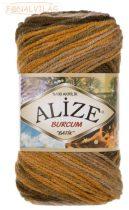 Alize BURCUM BATIK -  Mustár-zöld-barna melír