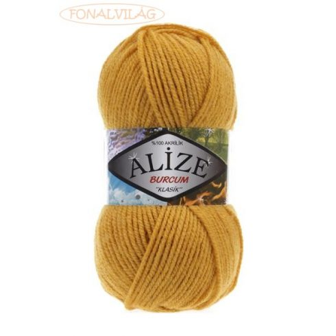 Alize BURCUM KLASIK - Mustár