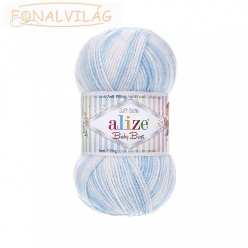 Baby Best Batik - Kék-fehér színátmenetes