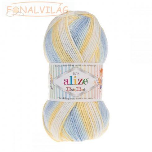 Baby Best Batik - Sárga-kék-krém színátmenetes