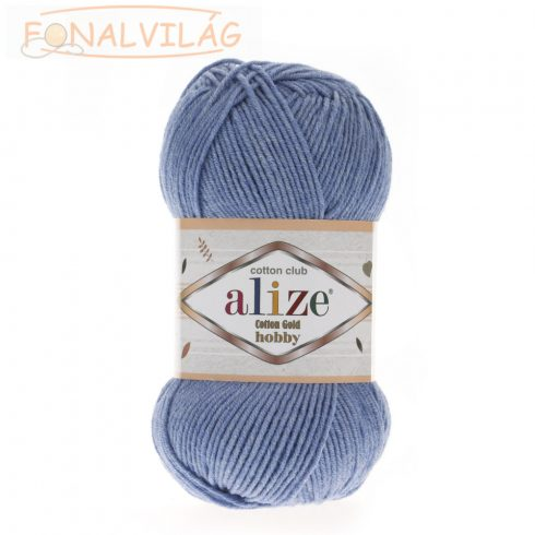 Cotton Gold Hobby - Kék melange