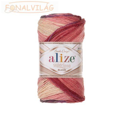Superlana Klasik BATIK - Lila,mályva,vanília,rózsaszín melír