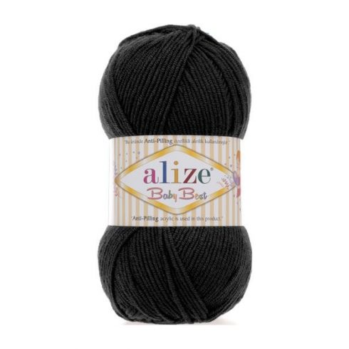 Alize BABY BEST Anti-Pilling- Fekete