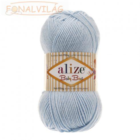 Alize BABY BEST Anti-Pilling- Világos kék