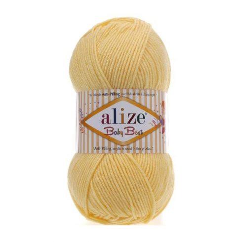 Alize BABY BEST Anti-Pilling- Világos sárga