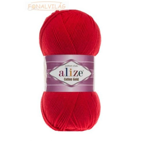 Alize COTTON GOLD - Piros