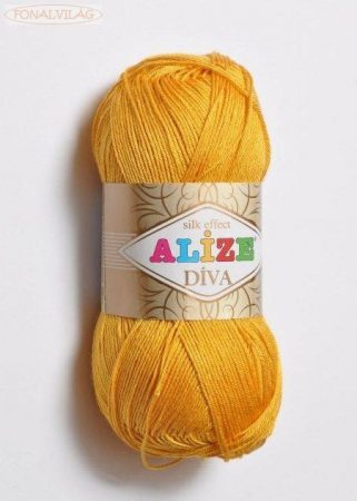 Alize DÍVA - Sáfrány sárga