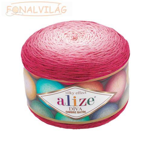 Díva Ombre Batik 7367 - Pink