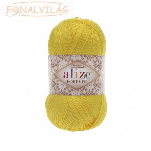 Alize FOREVER  horgoló és kötőfonal - Sárga