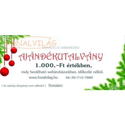 Karácsonyi Ajándékutalvány-1000