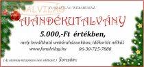 Karácsonyi Ajándékutalvány-5000
