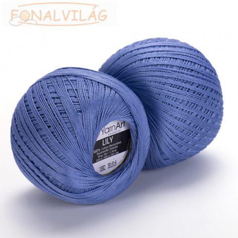 YarnArt LILY Horgoló cérna - Kék