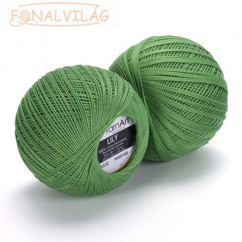 YarnArt LILY Horgoló cérna - Zöld